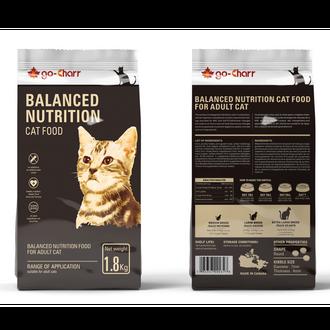Go-Charr balanced nutrition cat food for adult cat 高雀均衡营养成猫粮