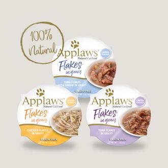 Applaws Cat Flakes in gravy Grain free 60g