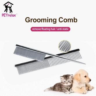 OEM Aluminum Handle Pet Cleaning Comb