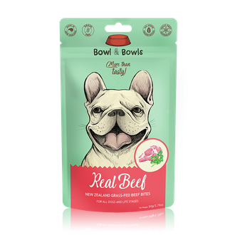 Grass-fed Beef Freeze-Dried Bites 50g(For muscular and active furfriends))