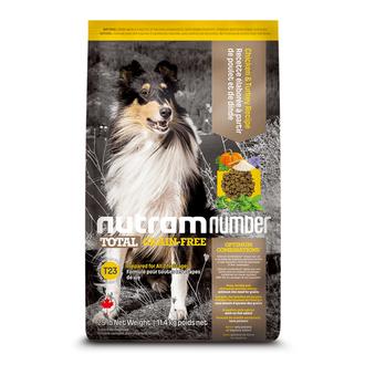 T23 NutramNumber Total Medium & Large Breed Dog Food Chicken & Turkey Recipe/T25 NutramNumber Total Medium & Large Breed Dog Food almon & Trout Recipe