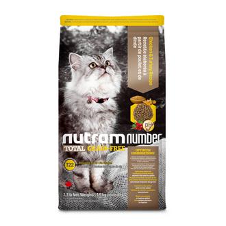 T22 NutramNumber Total Cat Food Chicken & Turkey Recipe/T24 NutramNumber Total Cat Food Salmon & Trout Recipe