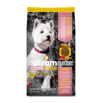 S7 NutramNumber Sound Small Breed Adult Dog Food Chicken & Brown Rice Recipe/S11 NutramNumber Sound Small & Toy Breed Puppy Food Chicken & Whole Eggs Recipe