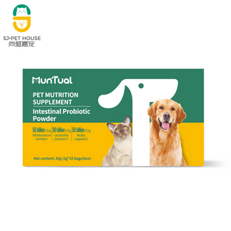 Intestinal probiotic powder for cats and dogs of all age group