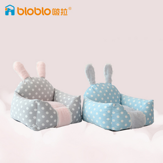 BLOBLO rabbit-style pet bed for Cats and Small to Medium Size Dogs