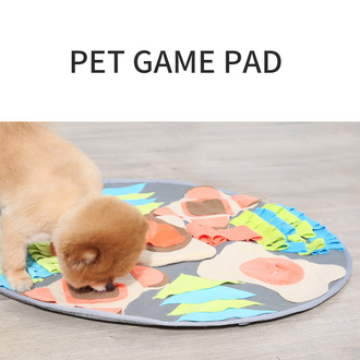 Snuffle Mat Pet Dog Feeding Mat, Durable Interactive Dog Toys,Interactive Food IQ Toy,Dog Training Pad to Encourages Natural Foraging Skills and Release Stress