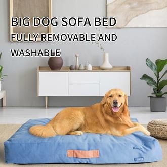 BLOBLO Sponge particle four seasons pet bed for Big Dogs