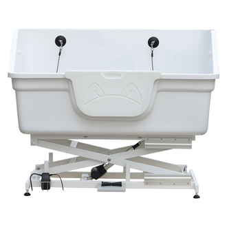 BTF-180E Electric Lifting Fiberglass Dog Bathing Tub