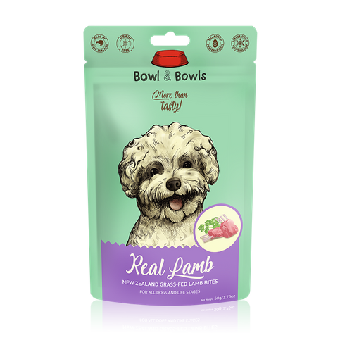Grass-fed Lamb Freeze-Dried Bites 50g (Single Protein For Sensitive Furfriends)